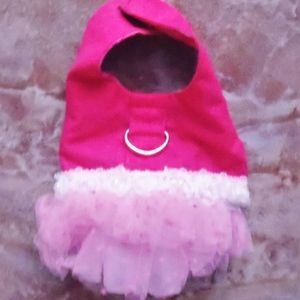 Vest with Tutu Harness size: XS